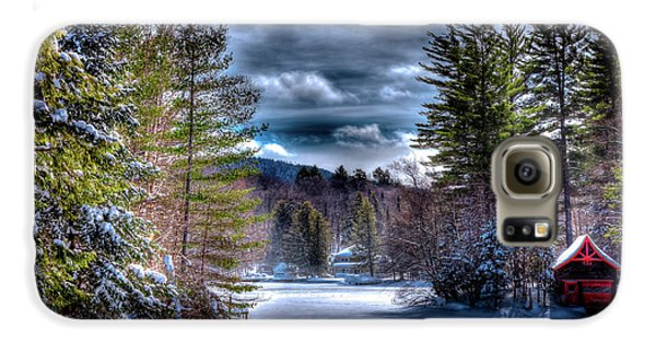 Galaxy S6 Case featuring the photograph Winter At The Boathouse by David Patterson