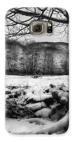 Galaxy S6 Case featuring the photograph Winter Dreary by Bill Wakeley