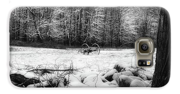 Galaxy S6 Case featuring the photograph Winter Dreary Square by Bill Wakeley