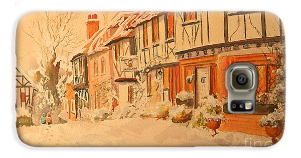 Winter In Chilham Kent Galaxy S6 Case
