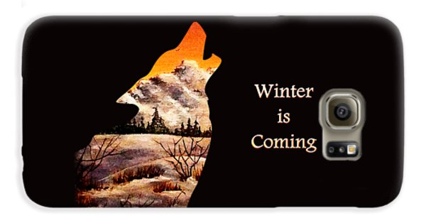 Winter Is Coming Galaxy S6 Case