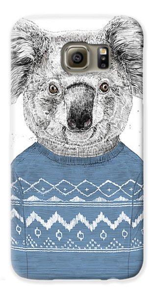 Winter Koala Galaxy S6 Case