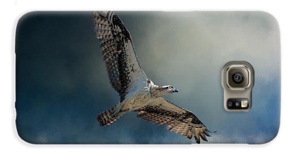 Winter Osprey Galaxy S6 Case by Jai Johnson