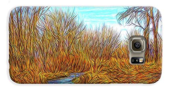 Winter River Breeze Galaxy S6 Case