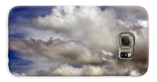 Winter Snow Clouds Galaxy S6 Case