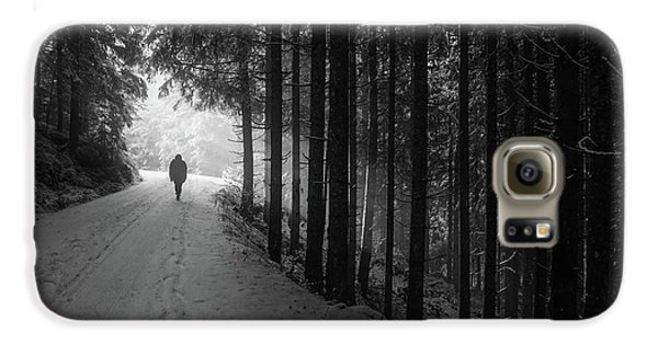 Winter Walk - Austria Galaxy S6 Case by Mountain Dreams
