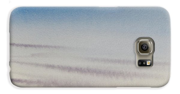 Wisps Of Clouds At Sunset Over A Calm Bay Galaxy S6 Case