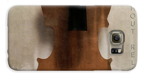 Violin Galaxy S6 Case - Without Relish  by Steven Digman