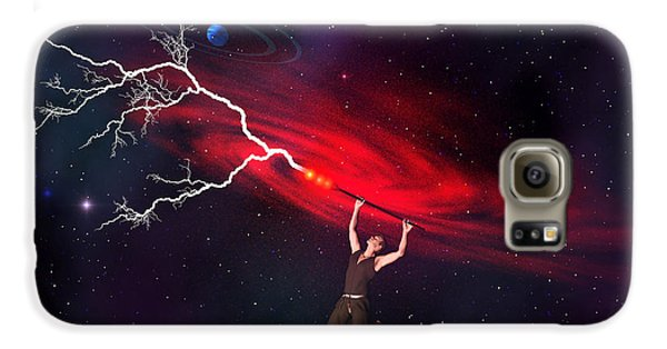 Voodoo Galaxy S6 Case - Wizard by Corey Ford