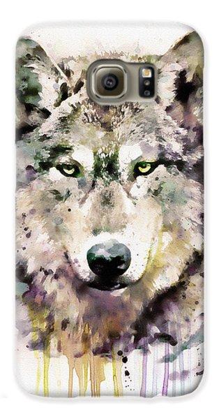 Wolf Head Galaxy S6 Case