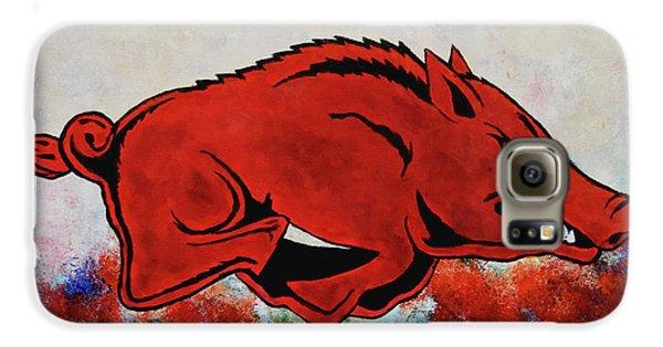 Woo Pig Sooie Galaxy S6 Case by Belinda Nagy