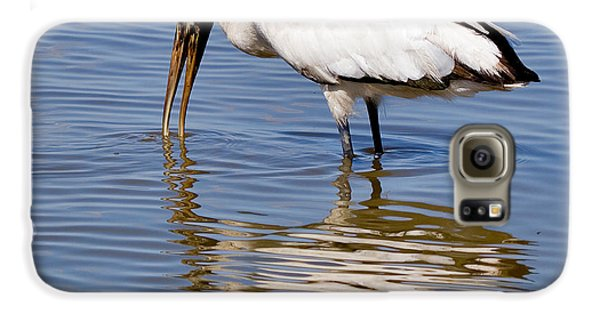 Wood Stork Galaxy S6 Case by Louise Heusinkveld