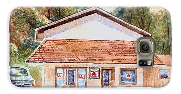 Woodcock Insurance In Watercolor  W406 Galaxy S6 Case