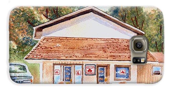 Woodcock Insurance In Watercolor  W406 Galaxy S6 Case by Kip DeVore