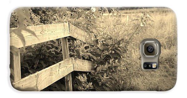 Wooden Bridge Galaxy S6 Case