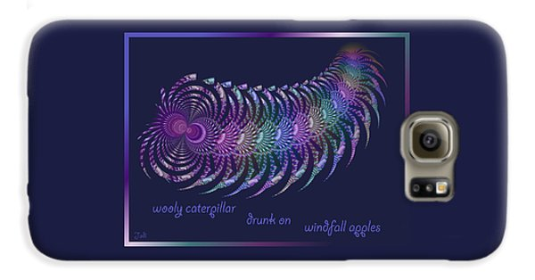 Wooly Caterpillar Haiga Galaxy S6 Case