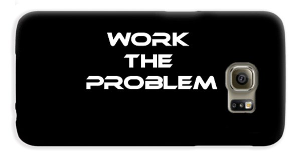 Work The Problem The Martian Tee Galaxy S6 Case