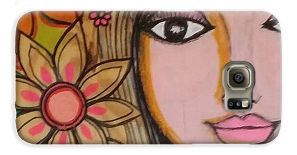 Beautiful Galaxy S6 Case - Working On A New #girliegirl On by Robin Mead