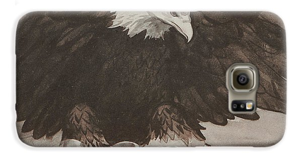 World War II Advertisement Galaxy S6 Case by American School