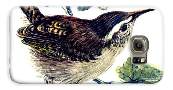 Wren In The Ivy Galaxy S6 Case by Nell Hill
