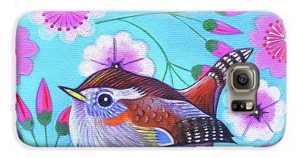 Wren Galaxy S6 Case by Jane Tattersfield