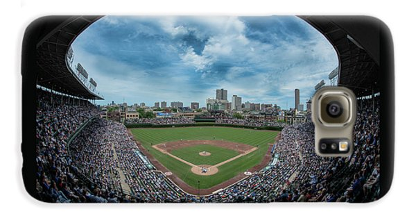 Wrigley Field Galaxy S6 Case - Wrigley Color by Greg Wyatt