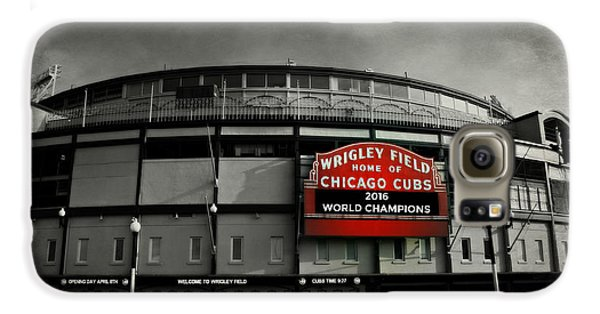 Wrigley Field Galaxy S6 Case - Wrigley Field by Stephen Stookey