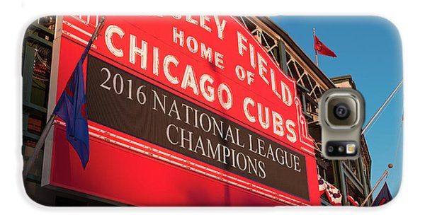 Wrigley Field Marquee Angle Galaxy S6 Case