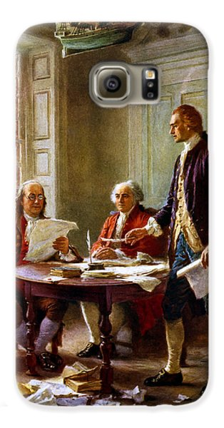 Writing The Declaration Of Independence Galaxy S6 Case
