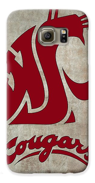 W S U Cougars Galaxy S6 Case
