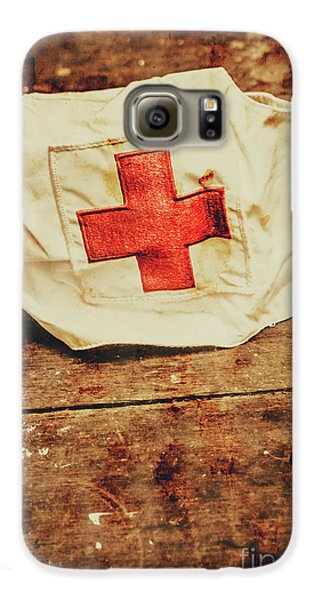 Ww2 Nurse Hat. Army Medical Corps Galaxy S6 Case