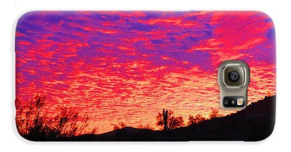 Y Cactus Sunset 1 Galaxy S6 Case