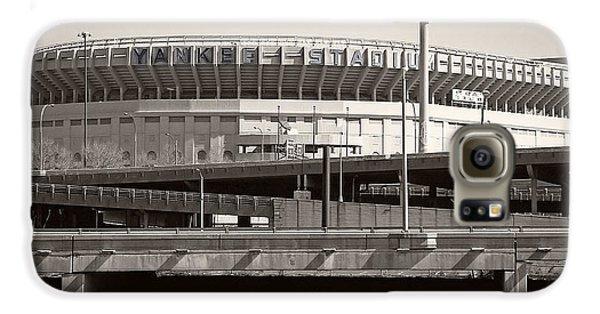 Yankee Stadium Galaxy S6 Case - Yankee Stadium    1923  -  2008 by Daniel Hagerman