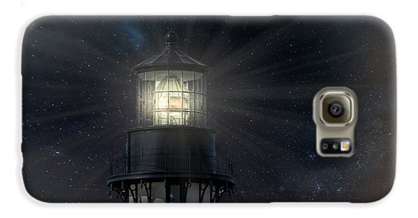 Yaquina Head At Night Galaxy S6 Case