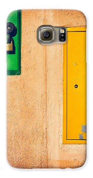 Galaxy S6 Case featuring the photograph Yellow And Green by Silvia Ganora