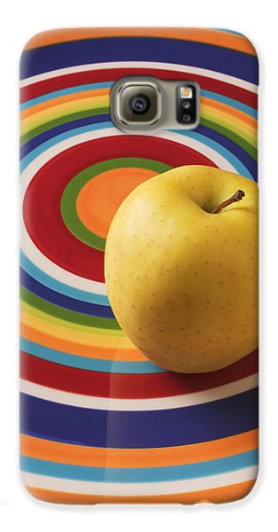 Yellow Apple  Galaxy S6 Case