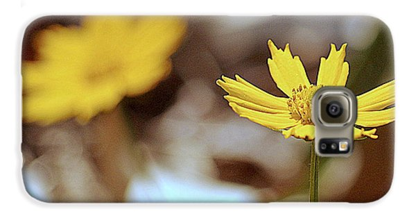 Yellow Flower Galaxy S6 Case