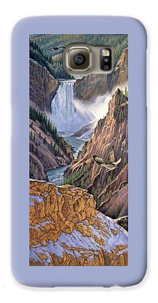 Yellowstone Canyon-osprey Galaxy S6 Case by Paul Krapf