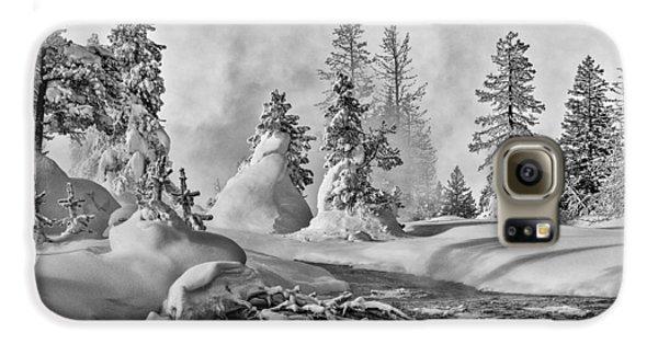 Yellowstone In Winter Galaxy S6 Case