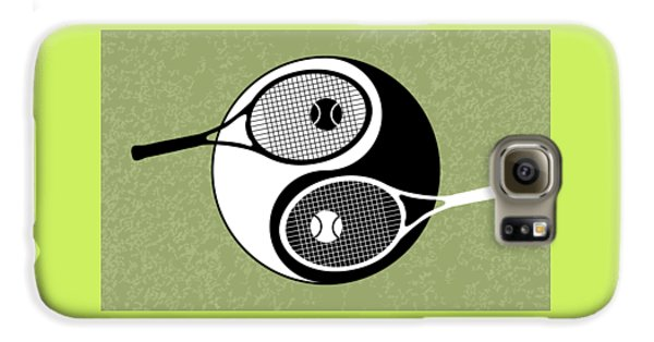 Yin Yang Tennis Galaxy S6 Case by Carlos Vieira
