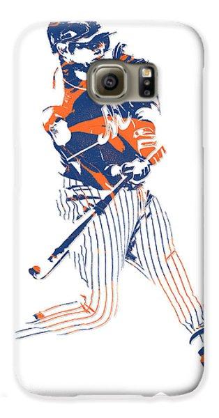 Yoenis Cespedes New York Mets Pixel Art 2 Galaxy S6 Case