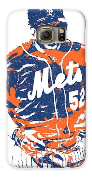 Yoenis Cespedes New York Mets Pixel Art 3 Galaxy S6 Case