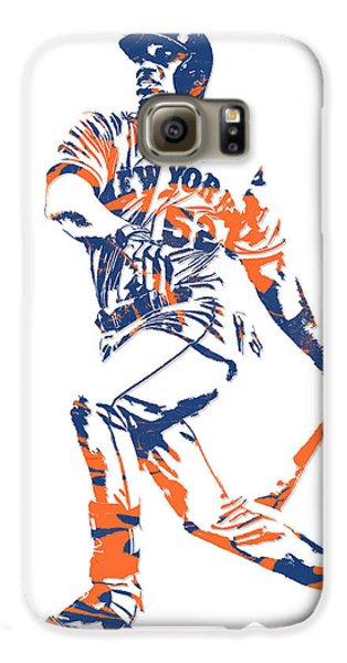 Yoenis Cespedes New York Mets Pixel Art 4 Galaxy S6 Case