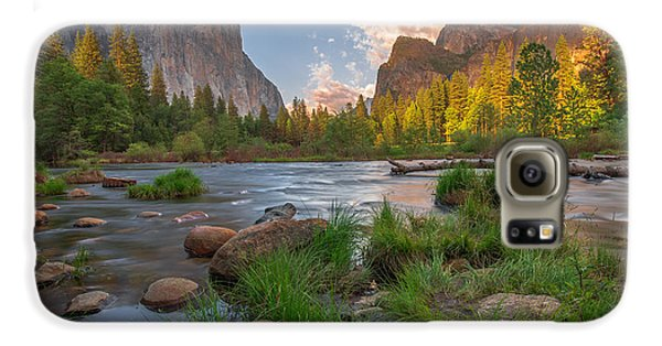 Yosemite Evening Galaxy S6 Case