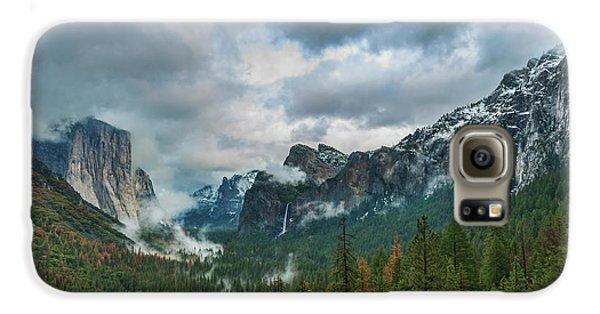 Yosemite Valley Storm Galaxy S6 Case