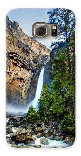 Yosemite National Park Galaxy S6 Case - Yosemite Waterfall by Az Jackson