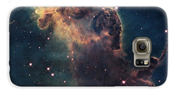 Young Stars Flare In The Carina Nebula Galaxy S6 Case