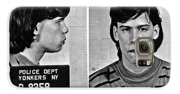 Young Steven Tyler Mug Shot 1963 Pencil Photograph Black And White Galaxy S6 Case