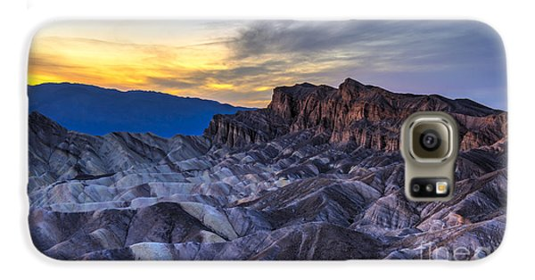 Zabriskie Point Sunset Galaxy S6 Case