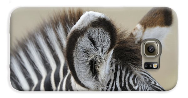Zebra Ears Galaxy S6 Case